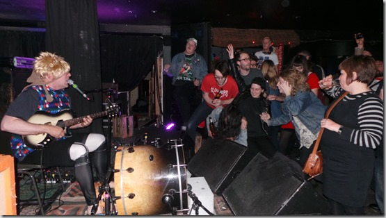 Mark Sultan Gig Review Whammy Bar
