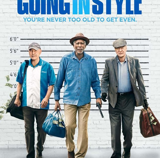 Going In Style – (Rated M Offensive Language 96 minutes)  Directed by Zach Braff ★★★ – Reviewed by Glenn Blomfield