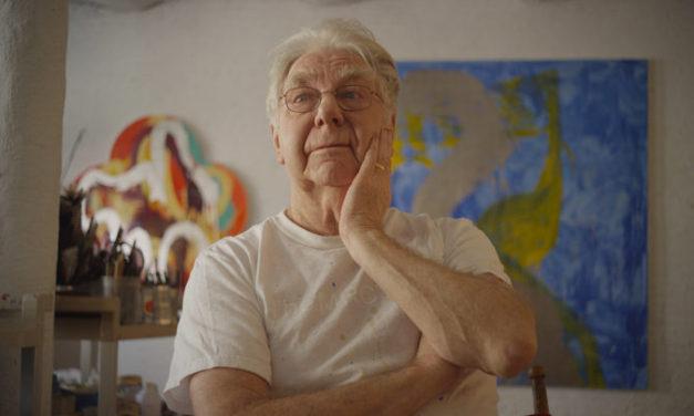 Max Gimblett: Original Mind- 50 mins Director Rhys Mitchell Review Glenn Blomfield