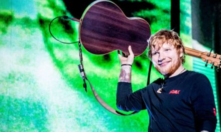 "Ed Sheeran Review ""Marvel"" In The Rain"