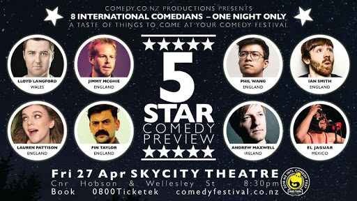 """The 5 Star Comedy Preview Review """"Blown Away"""""""