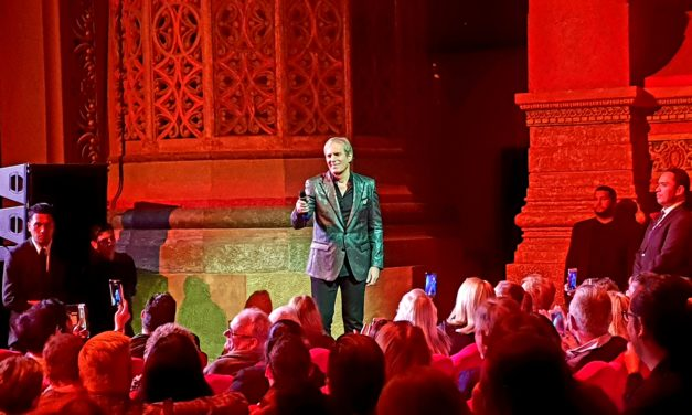 "Michael Bolton Gig Review ""Goose bumps"""