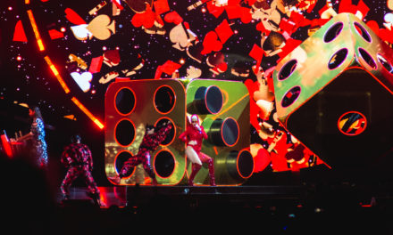 "Katy Perry Gig Review ""Spellbinding Show Pulls Out All The Stops"""