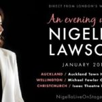 NIGELLA LAWSON TO TOUR NEW ZEALAND NEXT YEAR