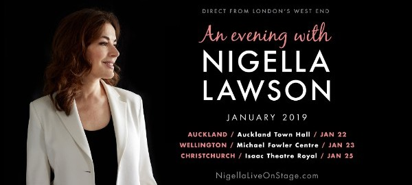 Celebrity Chef Nigella Lawson To Tour NZ Next Year
