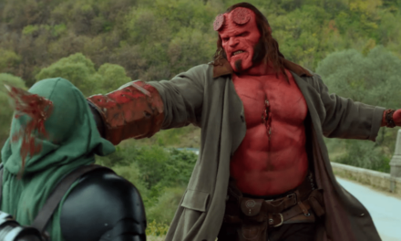 "HellBoy Film Review ""A Bit Clunky"""