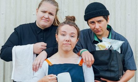 Alice Cassidy, Rachel Roberts & Becky Umbers Minimum Rage. NZ International Comedy Festival
