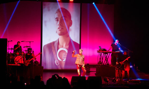 Stan Walker Gig Photos Wellington's The Opera House