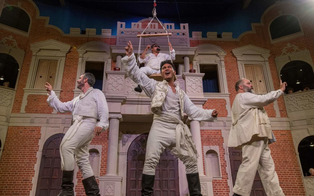 Much Ado About Nothing – Pop Up Globe Review